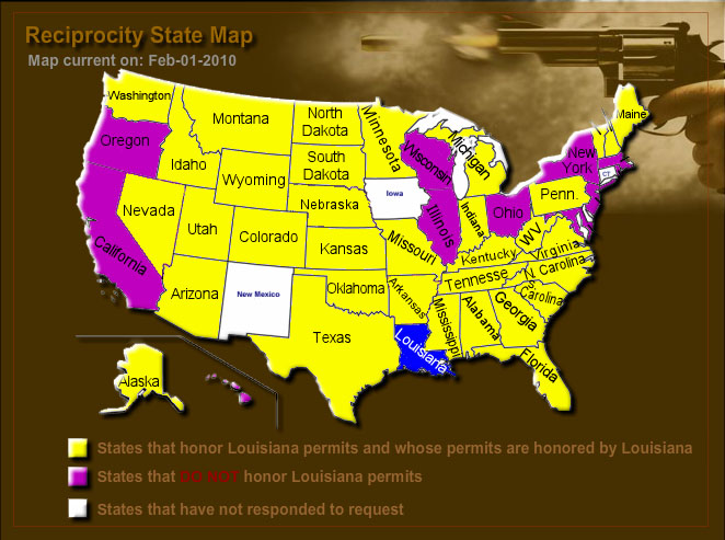 Concealed Carry Reciprocity Map | Brocato Instructors on ccw travel laws, utah ccw map, home map, ccw usa firearms training, ccw test in california,